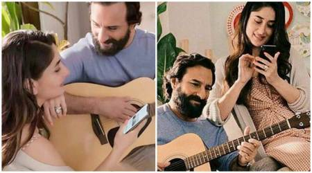 Amidst vacation, Kareena Kapoor-Saif Ali Khan shoot for an ad in London