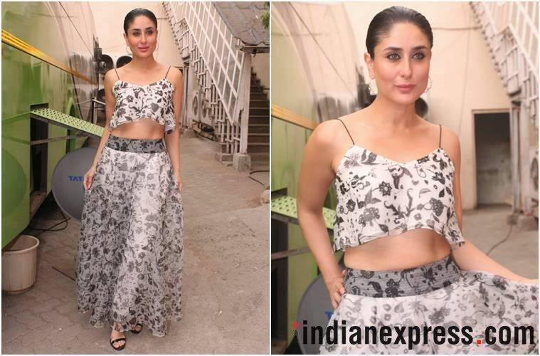 veere di wedding, veere di wedding promotions, kareena kapoor khan, sonam kapoor, swara bhaskar, kareena veere di wedding promo looks, indian express, indian express news