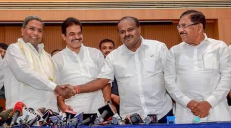 Karnataka Cabinet expansion: Congress, JD(S) and lone BSP minister take oath