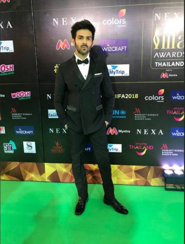 kartik aaryan at iifa awards 2018