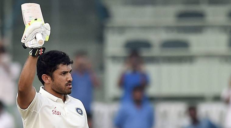 Karun Nair, Karun Nair India A, Karun Nair news, Karun Nair updates, Karun Nair batting, Karun Nair runs, sports news, cricket, Indian Express