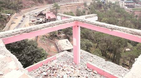 Kasauli: Demolition work in 4 hotels outsourced to private players