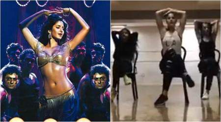 Dabangg tour: Katrina Kaif to perform on 'Sheila Ki Jawaani,' shares rehearsal video