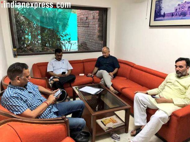 Arvind Kejriwal's sit-in protest at Lieutenant Governor's office has now entered its fifth day