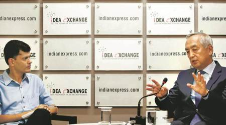 japanese ambassador to india, Kenji Hiramatsu, japanese ambassador interview, Kenji Hiramatsu indian express, idea exchange, indo pacific strategy, indo-japan ties