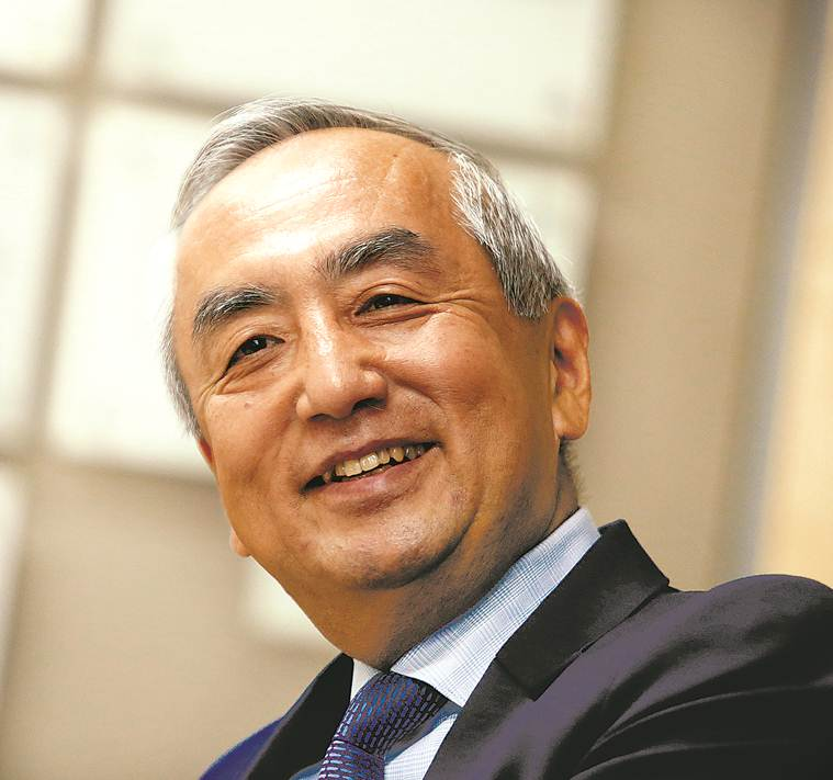 India -Japan, japan, Kenji Hiramatsu, Japanese ambassador to india, Kenji Hiramatsu interview, sushma swaraj, Indo-japan relations, Indo-Pacific Strategy, Shinzo Abe, ASEAN, Bullet trains, India news, idea exchange