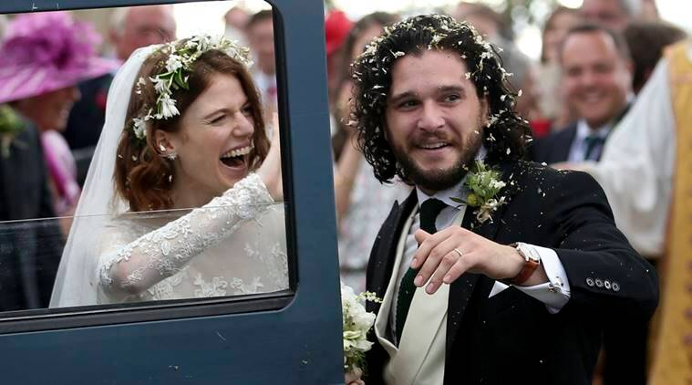 Game of Thrones stars Kit Harington, Rose Leslie tie the knot