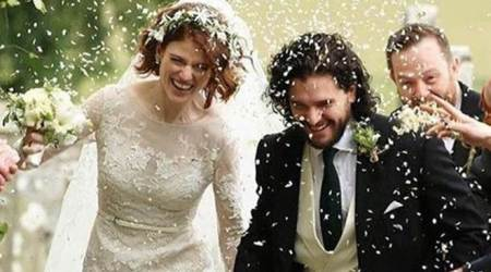 Game of Thrones actor Kit Harington marries Rose Leslie