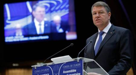 Romanian president to seek new term, backs corruption fight