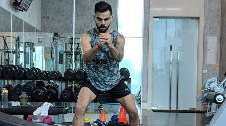 Virat Kohli, Virat Kohli India, India Virat Kohli, Virat Kohli workout, Virat Kohli news, India vs England, sports news, cricket, Indian Express