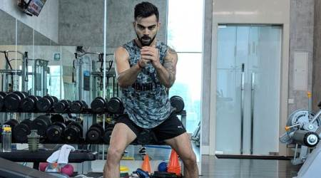 Virat Kohli sweats it out in gym ahead of England tour