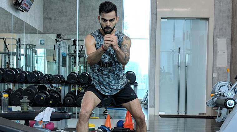Virat Kohli sweats out in gym ahead of England tour