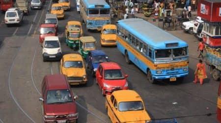 Kolkata: Hiked bus, taxi fares now ineffect