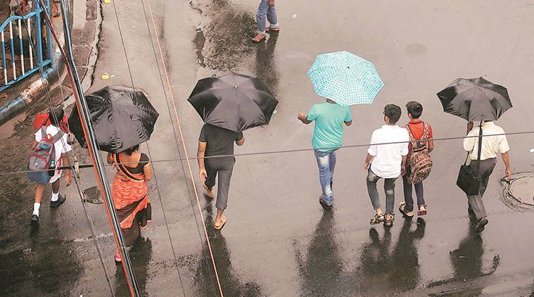 The MeT department warned of heavy to very heavy rainfall in northern districts till June 29. (Partha Paul, PTI)