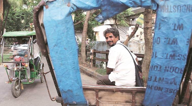 Satyen Das, Kolkata, rickshawwalla