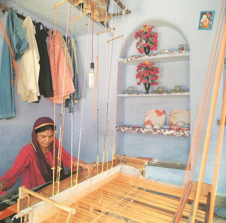 Checks and Balances kota ansari muslims handweavers