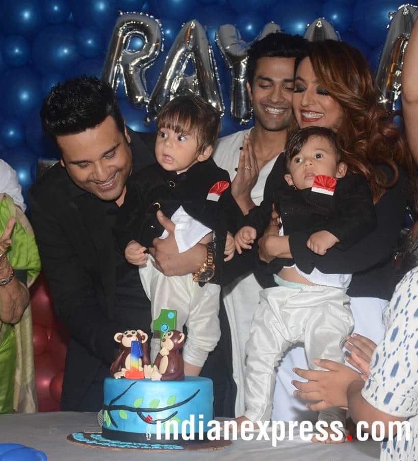 Krushna Abhishek, Kashmera Shahkids first birthday