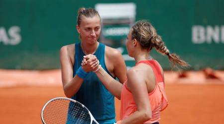 French Open 2018: Anett Kontaveit ends Petra Kvitova's hot streak on clay