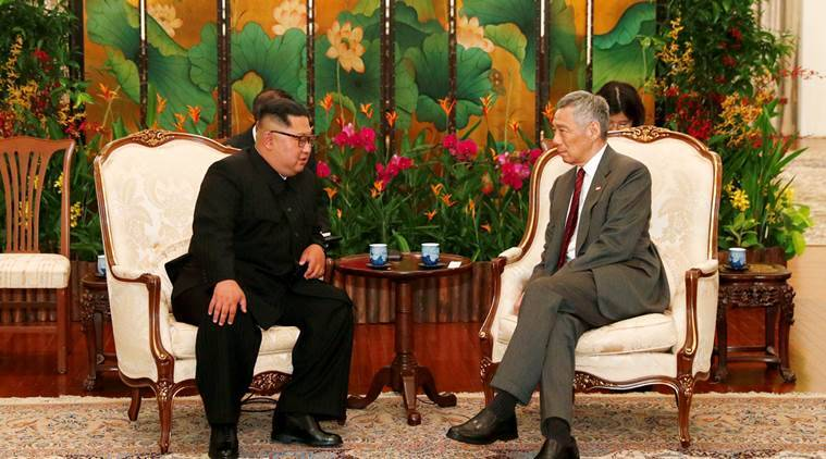 Trump-Kim meet, Singapore, Trump-Kim Summit, Singapore PM Lee Hsien Loong, Singapore summit, US-North Korea, world news, Indian express news