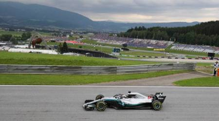 Lewis Hamilton, Valtteri Bottas lead practice in Austria in upgraded cars