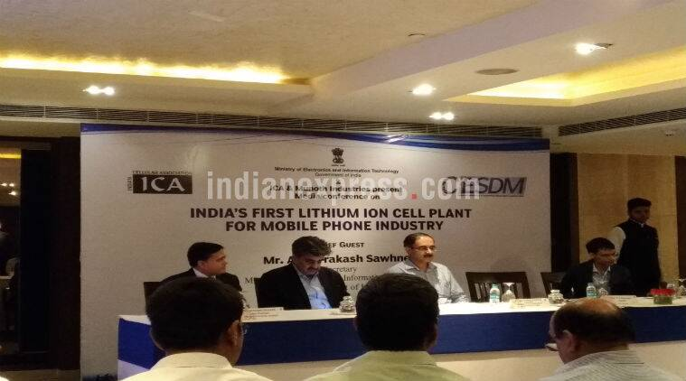Make in India, Lithium-ion plant, Munoth Industries, Lithium-ion cells, Lithium-ion cells smartphone batteries, digital India, ICA, Indian Cellular Association