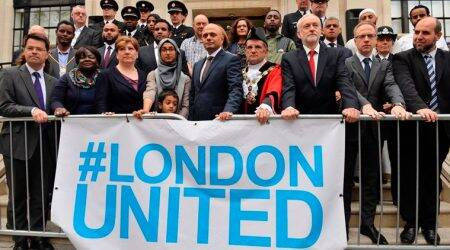 Minute's silence held to mark one-year anniversary of Finsbury Park attack inLondon