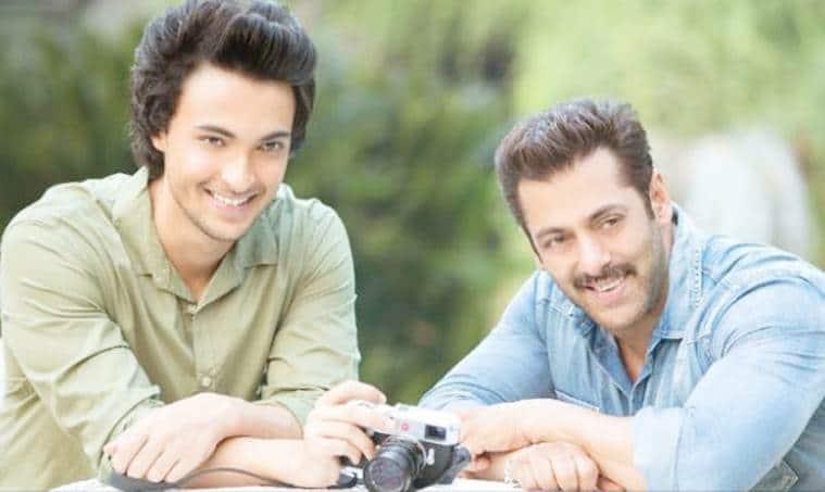 salman khan to launch ayush in loveratri
