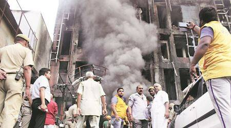 One-year-old, four others killed as fire breaks out in Lucknow hotel