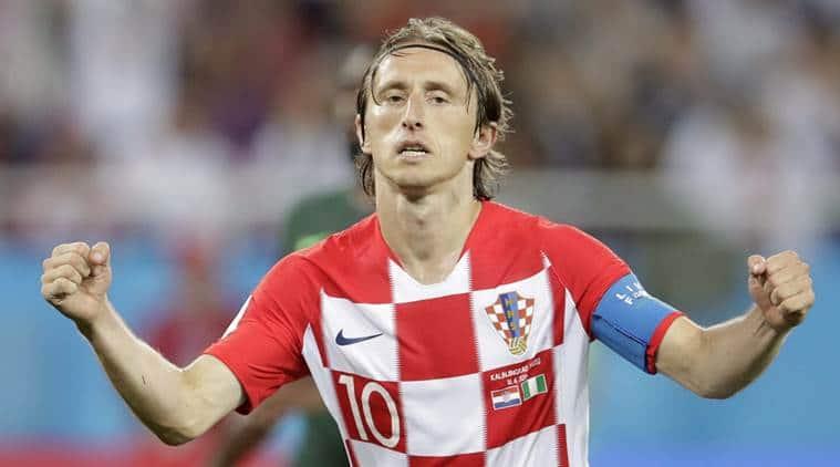 Luka Modric, Luka Modric news, Luka Modric updates, FIFA World Cup 2018, sports news, football, Indian Express