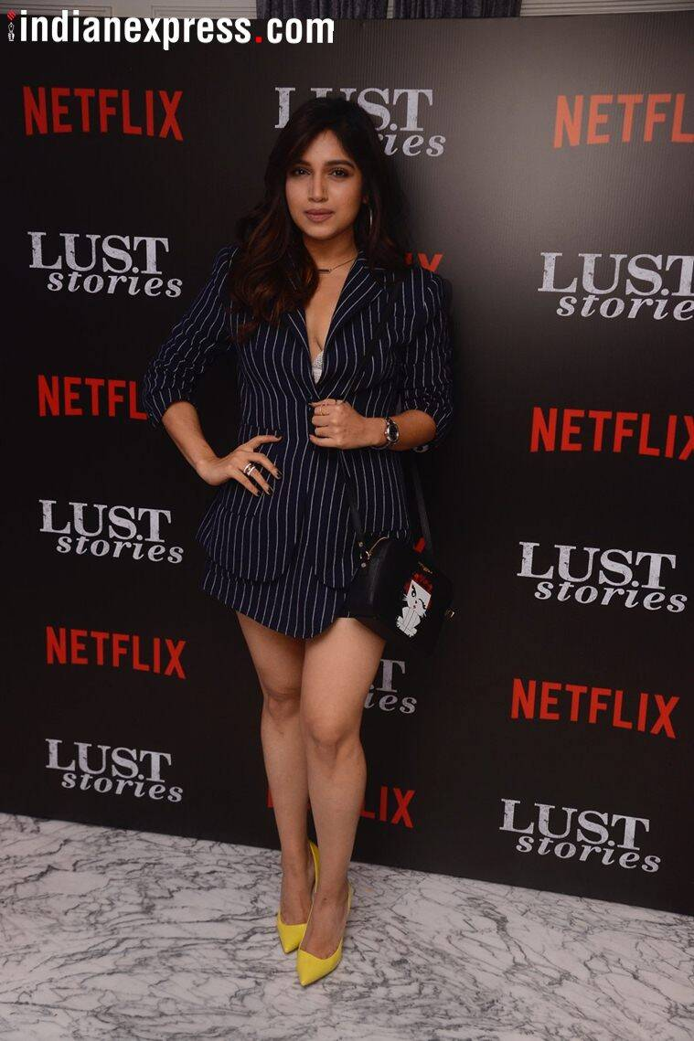 bhumi pednekar at lust stories screening
