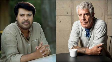 mammootty and anthony bourdain