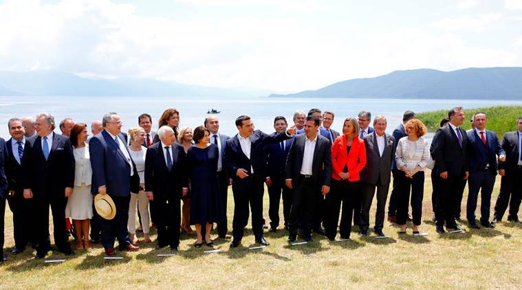 Pact signed by Macedonia and Greece for name change of Yugoslav republic