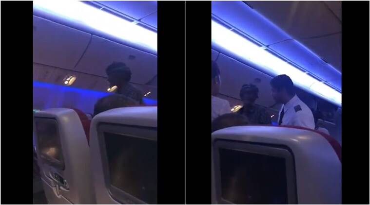 pakistani man on flight, pakistani beggar, pakistani man asks for money, pakistani man on flight asks for money, pakistani man begs for money on flight, truth behind pakistani man begging on flight video, truth behind Pakistani man asking money plane, Indian express, Indian express news