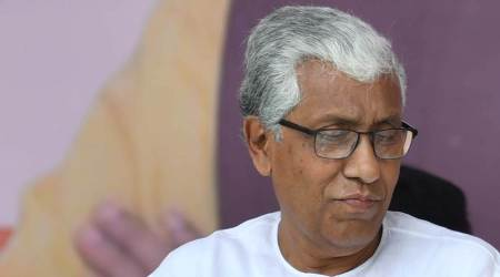 BJP workers disrupted condolence meeting for those who died protesting farm laws: Manik Sarkar