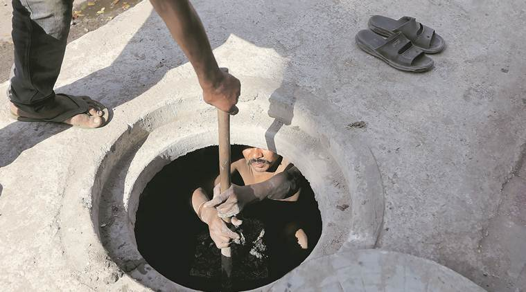 Manual scavenging incident: FIR registered for 'forcing' sanitary worker to go inside manhole
