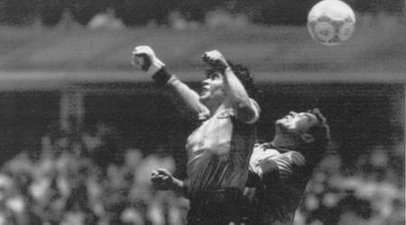 FIFA World Cup history: Diego Maradona's 'Hand of God' goal in1986
