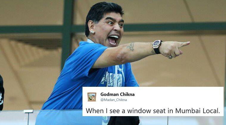 This photo of Diego Maradona celebrating at FIFA World Cup ... World Cup Funny Memes