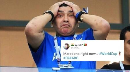FIFA World Cup 2018: Maradona memes take over Twitter as France defeats Argentina