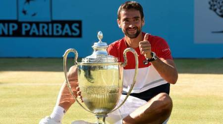 Marin Cilic battles past Novak Djokovic to claim Queen's title