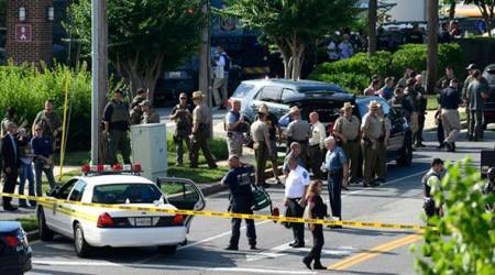 Maryland shooting: Gunman held, newspaper publishes a day after five killed innewsroom