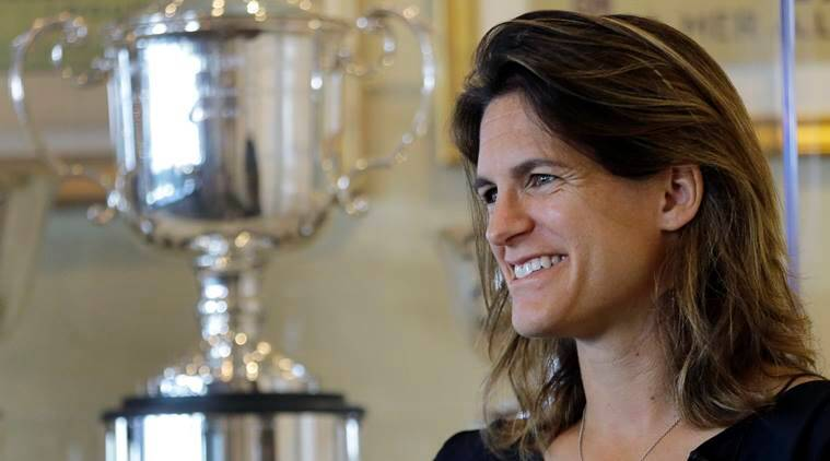Amelie Mauresmo first woman to captain France men's Davis Cup team