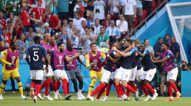 FIFA World Cup 2018, France vs Argentina FIFA World Cup 2018, Lionel Messi, Argentina vs France, sports news, football, Indian Express