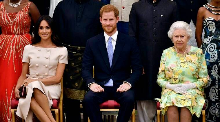 meghan markle, meghan markle prada, meghan markle young leader's program, royal wedding, royal wedding 2018, prince harry wedding, meghan markle prince harry wedding, meghan markle fashion, royal fashion, meghan markle latest news, meghan markle latest photos, meghan markle updates, celeb fashion, indian express, indian express news