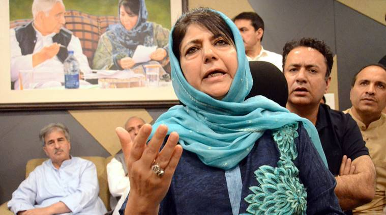 Mehbooba Mufti warns against harassment of militants' families in J&K
