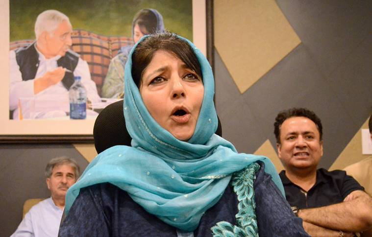Muscular security policy will not work in Jammu and Kashmir: Mehbooba Mufti