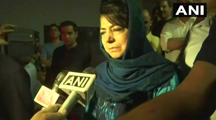 """This is really shocking. He came to meet me a few days back. This is upsetting,"" said Mehbooba Mufti"