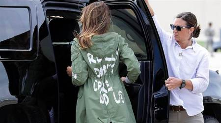 Melania Trump wears 'I really don't care, do u?' jacket on visit to migrant children, courts controversy