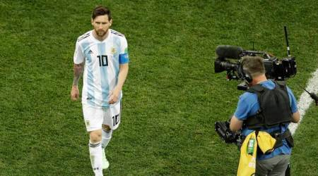 FIFA World Cup 2018: Stressed Lionel Messi enduring a World Cup ofnightmares