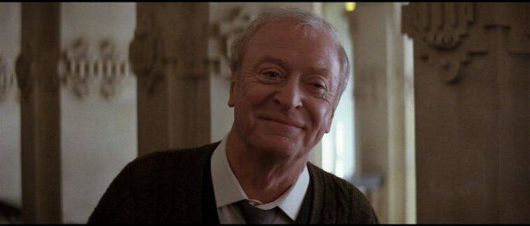 michael caine as aflred in batman begins