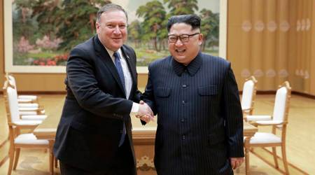 Traveling with Secretary of State Mike Pompeo on secret mission to NorthKorea